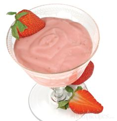 HCG Recipes Strawberry Cheesecake for Phase 2 of the HCG Diet. Creamy & delicious P2 cheesecake style dessert. Recipe from HCG Diet Gourmet Cookbook Vol. 2