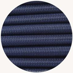 Midnight Blue Fabric Cable