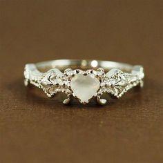 ~ Centered Heart with Fleur De Lis on each side ~ beautyblingjewelry.com