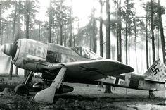 Focke Wulf Fw 190A8 5.JG300 Red 1 Klaus Bretschneider WNr 682204 Lobnitz 1944