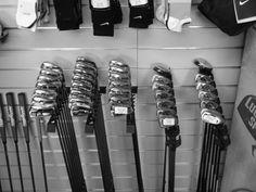 Racks of irons....