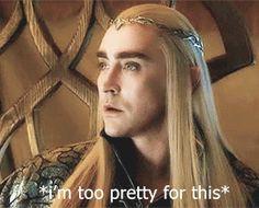 Fabulous Thranduil. The hobbit