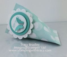 Sour Cream Container  www.stampingwithtracy.com