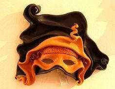 Leather mask ~ NidArt, Mazatlan, Mexico