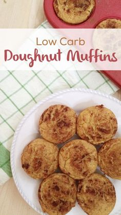 Low Carb Doughnut Muffins   Grain Free, gluten free, dairy free & sugar free!