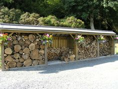 Large Log Store | Wooden Log Stores | UK | D & P Marchant