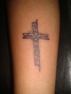 1000 images about tattoos i like on pinterest cross for Wood cross tattoos