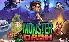 Monster Dash para iPhone, iPad y iPad Mini Recibe un Update ¡Y es Gratis por Tiempo Limitado!