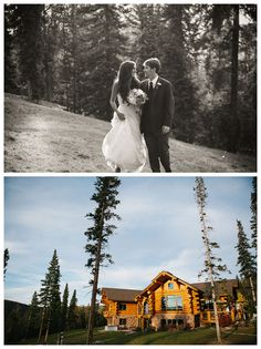 V3 Ranch in Breckenridge. Bridal party and family stay in cabin, wedding held in tent right outside. Perfect for smaller weddings.