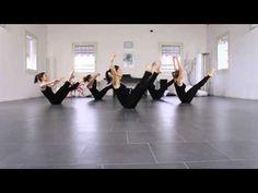 Jazz Floor stretching workout intermediate - YouTube