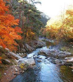 Yamanashi Travel: Shosenkyo Gorge
