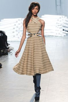 Rodarte Fall 2011 Ready-to-Wear Fashion Show - Jourdan Dunn