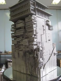 Incredibly Detailed Model Of The Bath House From Miyazaki's Spirited Away | Bored Panda