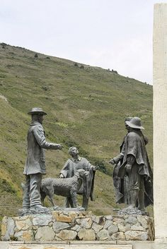 Monumento al Perro Nevado, Mérida, Venezuela