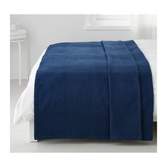 """INDIRA Bedspread IKEA Fits a Full bed with a drop of 22"""", a Queen bed with a drop of 14"""" and a King bed with a drop of 10""""."""