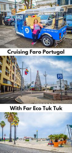 When checking out things to do in Faro on the Algarve, we came across Far Eco Tuk Tuk. We immediately knew this was something the kids would love. 2 hours in a tuk-tuk, what kids would not love this?