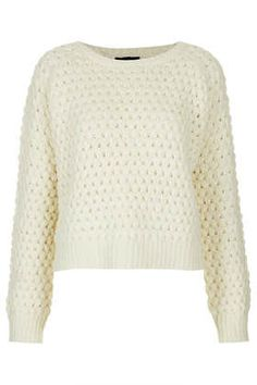{Fall 2013 Must Have} Knitwear for Work  Knitted Wool Bobble Jumper via Topshop