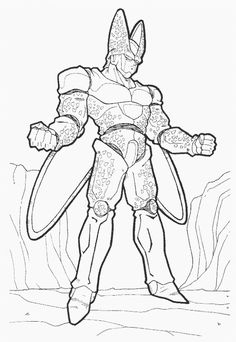 Dibujos de Dragon Ball GT para Imprimir y Colorear  dibuixos