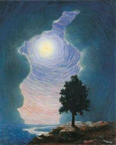 René Magritte - L'echo (1944)