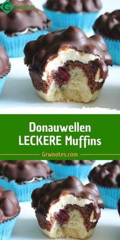 Danube waves DELICIOUS Muffins - RECETTES