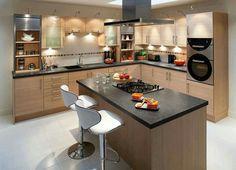 Design Your Kitchen, Interior Design Kitchen, Kitchen Designs, Interior  Ideas, Kitchen Ideas, Fitted Kitchens, Wooden Kitchen, Remodeling Ideas Part 77