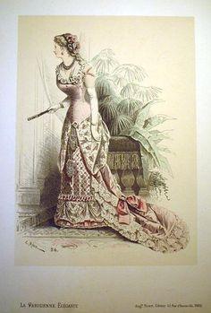 9a0b4ce048 La Parisienne Élégante 1880