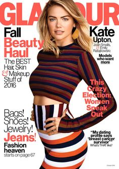 October 2016 cover with Kate Upton