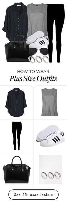 """Style #11136"" by vany-alvarado on Polyvore featuring Xirena, Givenchy, Boutique, adidas Originals, Ray-Ban and ASOS"