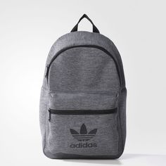 Adidas Women Shoes - adidas Jersey Classic Backpack Grey - We reveal the news in sneakers for spring summer 2017 Cheap Adidas Shoes, Adidas Bags, Adidas Shoes Women, Backpack Purse, Leather Backpack, Fashion Backpack, Cute Backpacks, School Backpacks, Mochila Kate Spade