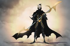 Corvus Glaive Commission by EricGuzman on deviantART