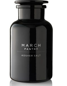March Pantry. The black color and clean font of the bottle give it a sleek, modern look.