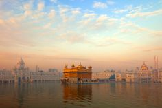 Dawn at the Golden Temple, Amritsar FREE UK delivery within 2 to 4 working days. Punjab Culture, Harmandir Sahib, Golden Temple Amritsar, Guru Pics, Photo Mural, Heaven On Earth, Wall Wallpaper, Wall Murals, Dawn