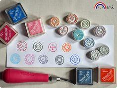 La ronde des boutons by Memi The Rainbow, via Flickr