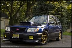 2001 SF5 Forester STi swap
