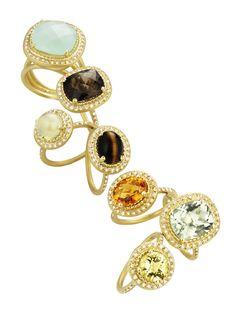 Lauren K rings are so fun jewelry i want Pinterest Designer