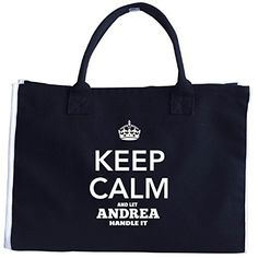 Keep Calm And Let Andrea Handle It  Tote Bag * For more information, visit image link. #XmasStorageOrganization