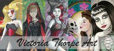 Victoria Thorpe Art | Artwork, Art Help and Tutorials