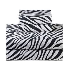 I pinned this Zebra Sheet Set from the Mr. Goodwill Hunting event at Joss and Main!