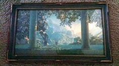 Check out this item in my Etsy shop https://www.etsy.com/listing/232868529/1922-daybreak-by-maxfield-parrish-house
