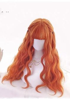 Lace Frontal Wigs Caramel Hair Color Boys Trendy Haircuts Redhead Wig Least Damaging Hair Extensions For Fine Hair Bob Wig With Closure Kawaii Hairstyles, Bob Hairstyles For Fine Hair, Wig Hairstyles, Anime Wigs, Anime Hair, Wig With Closure, Kawaii Wigs, Lolita Hair, Hair Color Caramel