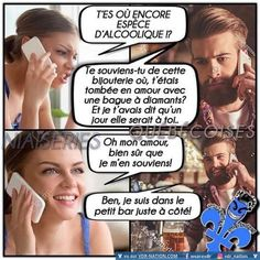 Funny picture, funny picture and funny videos to discover on VDR - Sellers of dreams. Discover the best pictures and funny pictures of the web! Funny True Quotes, Stupid Funny Memes, Hilarious, Funny French, Massage, App, Anime Manga, Laughter, Funny Pictures