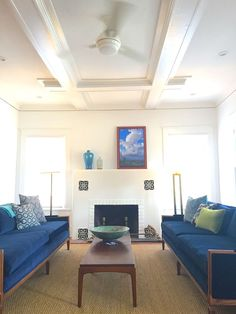The ceiling detail is one of the features that sold us on the house Ceiling Detail, Hotel Suites, Florida Home, Ideal Home, Homes, Vacation, Ideal House, Houses, Vacations