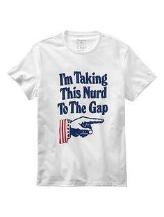 45th birthday: Nurd T-shirt | Gap