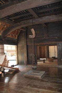 Japanese farmhouse--minka interior-wonderland