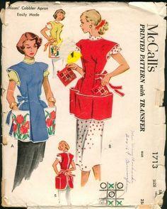 Vintage+Apron+Patterns+Free   APRON PATTERN SEWING VINTAGE « FREE Knitting PATTERNS