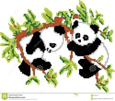 pandas-tree-pixel-art-9104117.jpg (1300×1138)