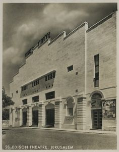 #Edison #Theatre, #Jerusalem, #Cinema
