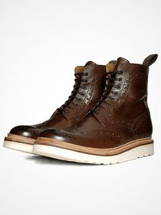2013.02.13. The Fred V Boot from one of Britain's most celebrated boot-makers, Grenson.