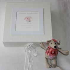 From £21.99 - personalised keepsake box - pink or blue