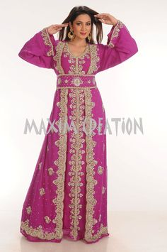 Wedding Dress, Gown, Renaissance Royal Kaftan Fancy  Jilbab Islamic Cloth 4342 #MaximCreation #Kaftan #Formal